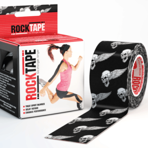 RockTape Kinesiology Tape BlackSkull