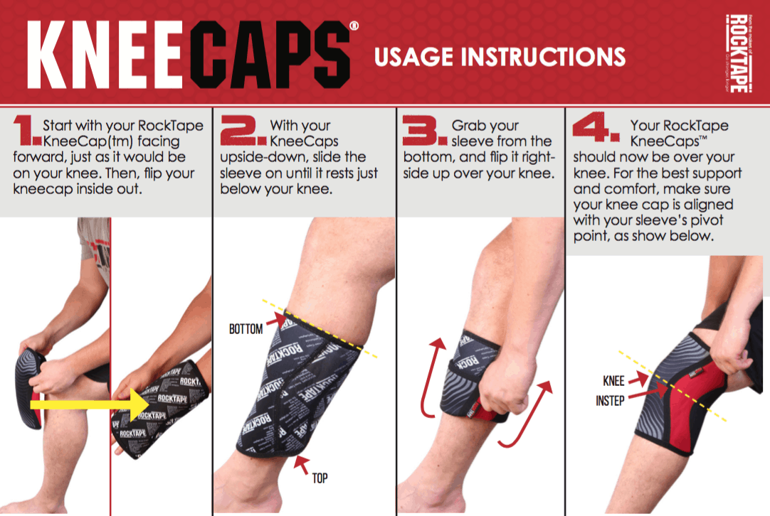 Image result for knee caps rock tape
