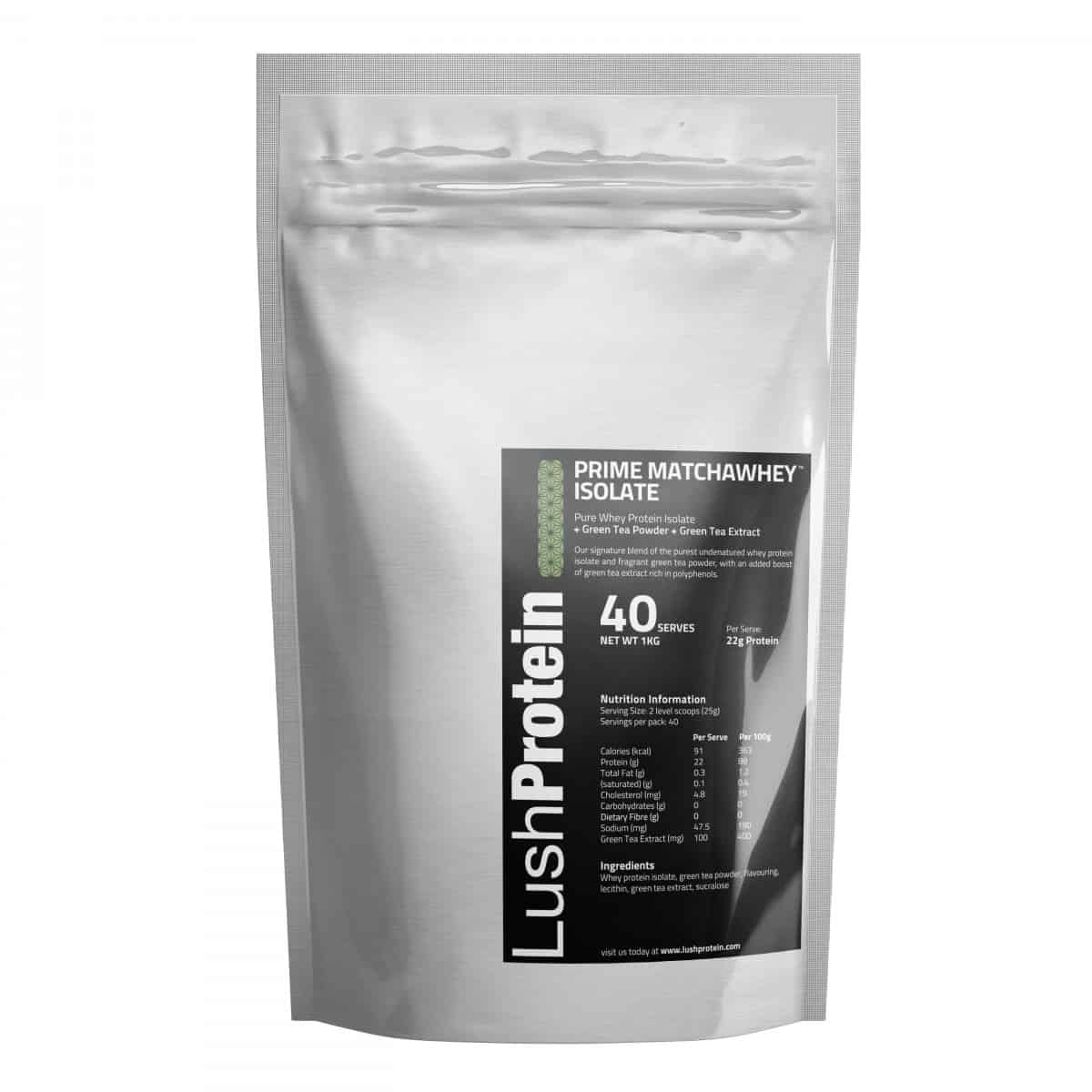 Prime MatchaWhey™ Isolate by Lush Protein