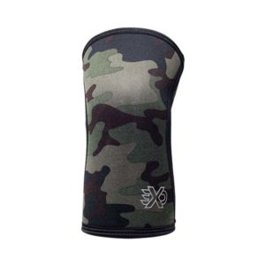 Exo 5mm Knee Sleeves Green Camo Front