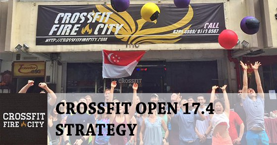 CrossFit Open 17.4 Strategy by Coach Samuel from CrossFit Fire City