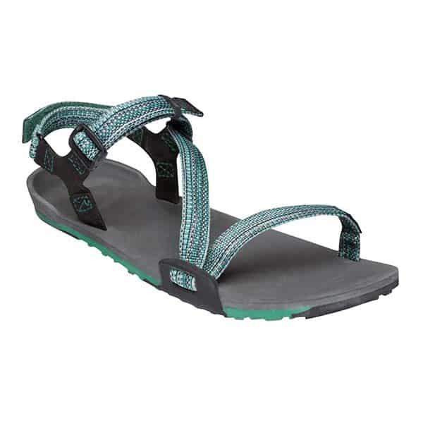 8b8767c5cc77 Xero Shoes Women s Z-Trail Sports Sandals Charcoal Multi-Green ArmourUP  Asia Singapore