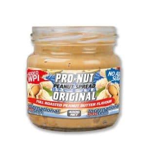 International Protein Pro Nut High Protein Peanut Spread Original ArmourUP Asia Singapore