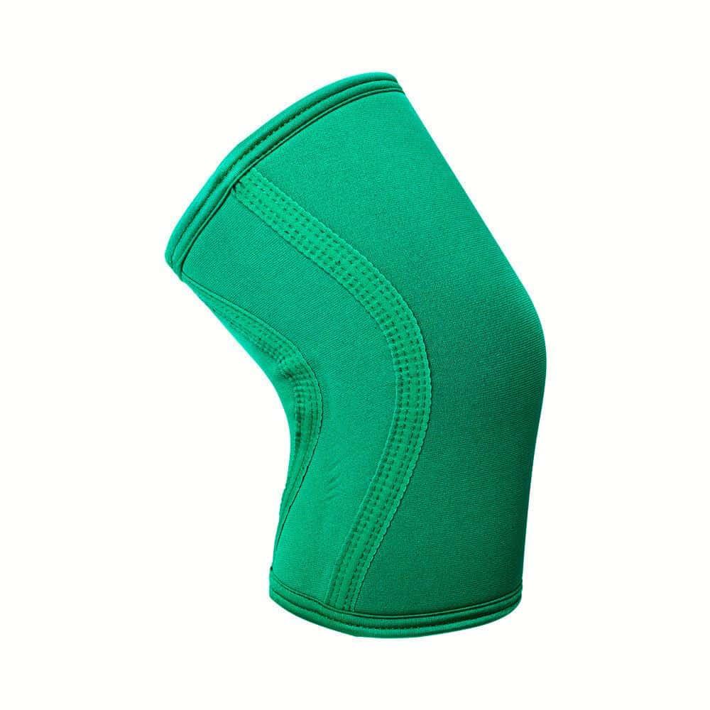 Exo 5mm Knee Sleeves Emerald Green Side ArmourUP Asia Singapore