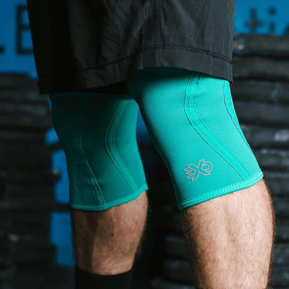 Exo 5mm Knee Sleeves Spearmint ArmourUP Asia Singapore