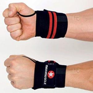 MaxiMuscle Wrist Wraps ArmourUP Asia Singapore