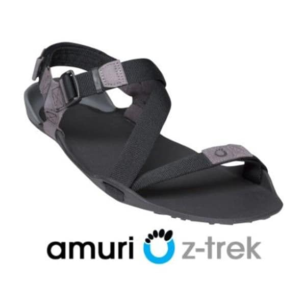 f04254c6c819 Xero Shoes Men s Z-Trek Lightweight Sports Sandals Charcoal Black ArmourUP  Asia Singapore
