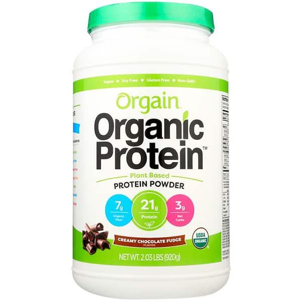 Orgain Organic Protein 920g Creamy Chocolate Fudge ArmourUP Asia Singapore