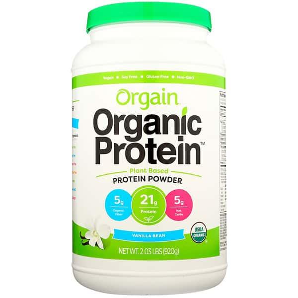 Orgain Organic Protein 920g Vanilla Bean ArmourUP Asia Singapore