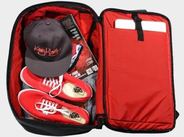 King Kong Backpack II Duffel-Style Flat Packing Plus Padded Laptop Sleeve ArmourUP Asia Singapore
