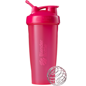 blender bottle classic 28 oz pink