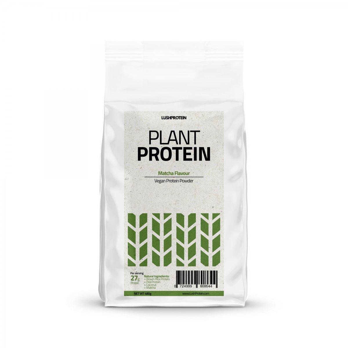 lush plant protein matcha