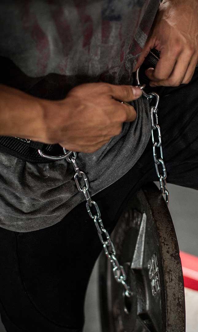 Harbinger PolyPro Dip Belt Lifestyle 1 ArmourUP Asia Singapore